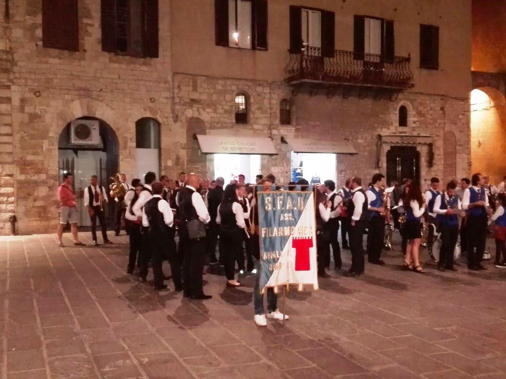 'Una banda al museo', la S.F.A.U. di Avigliano in concerto ad Amelia