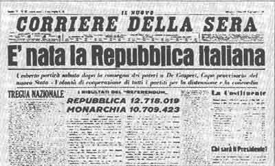 2 giugno 1946, anche gli aviglianesi scelsero la Repubblica