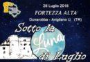 """""""Sotto la luna di Luglio"""", evento alla Fortezza di Dunarobba"""