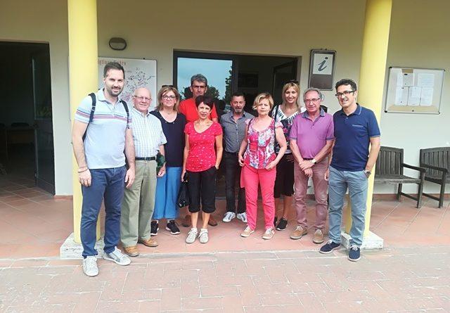 I francesi di Toulon sur Arroux alla Foresta Fossile