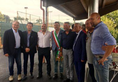 Amc 98, inaugurata la nuova tribuna coperta del campo di Acquasparta