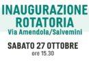 Rotatoria in via Salvemini/Amendola: il 27 ottobre l'inaugurazione