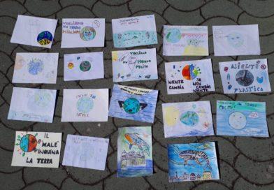 Il 'Friday for Future' ad Avigliano: le opere degli studenti delle scuole