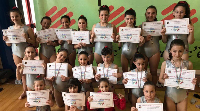 Il settore giovanile dell'Umbria Ktc in grande spolvero con la ginnastica artistica e il karate