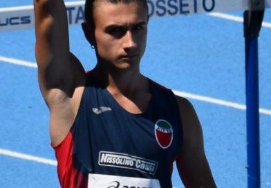 Giammarco Giuli vince il 12°trofeo 'Città di Orvieto' nel salto in lungo